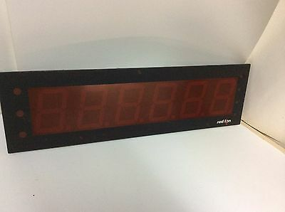 """Red Lion EPAX0600 large digit display panel meter 4"""" character height"""
