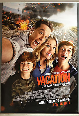 Cinema Poster: VACATION 2015 (Advance One Sheet) Chris Hemsworth Chevy Chase