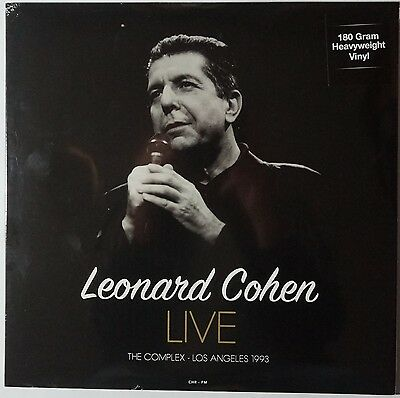 Leonard Cohen - Live at the Complex L.A. 1993 NEU/SEALED 180g vinyl