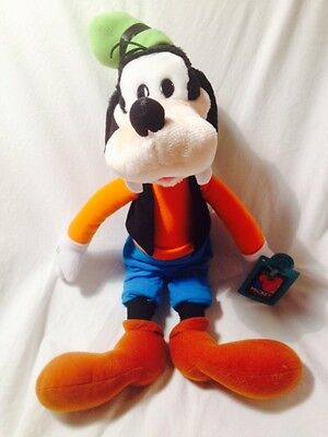 "Mickey Unlimited Goofy doll large plush Applause 19"" tall NEW WITH TAGS NWT SAVE"