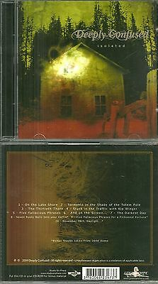 Rare / Cd - Deeply Confused : Isolated / Heavy Metal / Hard Rock / Comme Neuf