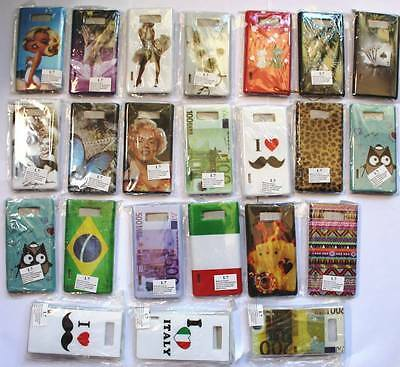 STOCK 80 CUSTODIE MIX DISEGNI LG Optimus L P700 Optimus L7 FANTASIE e gommate