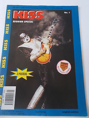 Kiss Reunion Special No'1 Including X3 Posters English Edition