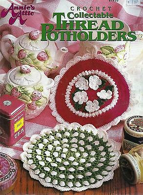 Collectable Thread Potholders Crochet Booklet - Annie's Attic - 12 Designs