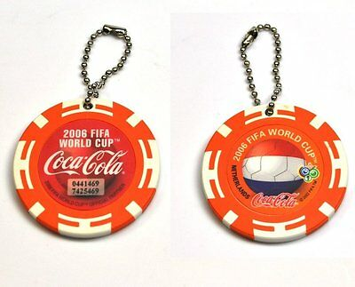 Coca-Cola Schlüsselanhänger aus Japan Key Chain FIFA World Cup 2006 Netherlands