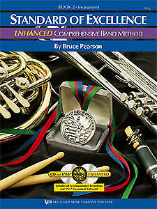 Bruce Pearson: Standard of Excellence Enhanced Book 2 Flute + Audio - Kjos PW...