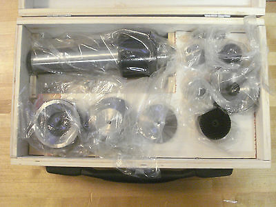 Heavy Duty 5MT Interchangeable Point Live Center Set, 8 Points Included /HR1/