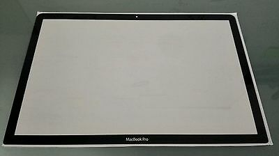 "Vitre écran Glass screen MacBook Pro Unibody 15""A1286 2009-2013 avec autocollant"