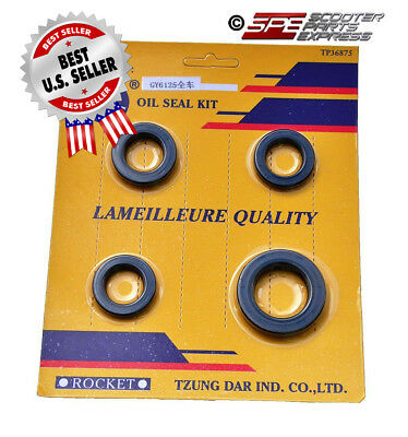 Oil Seal Kit GY6 50 139QMB ~ US Seller