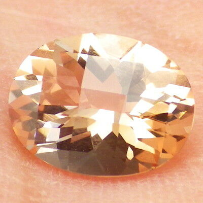 PINK GOLD OREGON SUNSTONE 1.56Ct FLAWLESS-CALIBRATED JEWELRY