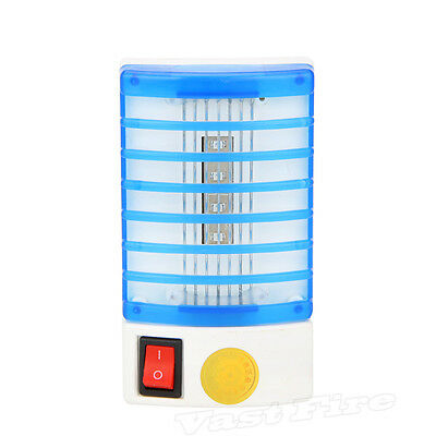 NEW Electric LED Mosquito Fly Bug Insect Trap Zapper Night Lamp Light Plug UK G