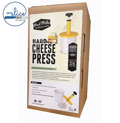 Mad Millie Hard Cheese Press 2 Lt Cheese Making