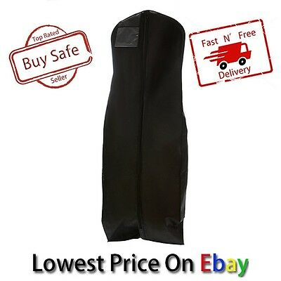 Wedding Dress Protector Bridal Bag Garment Storage Cover Gown Dustproof Clothes