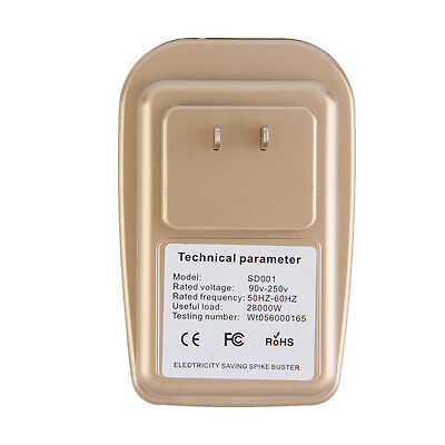 28KW Home Electricity Power Energy Factor Saver Saving Up To 30% 90-250V LO