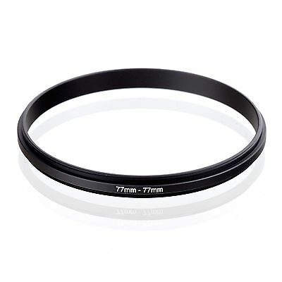 77mm-77mm 77mm to 77mm Male to Male Coupling Step Ring Adaptor 77-77 Dual Male