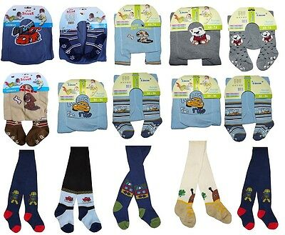 SALE Baby Boys Cotton Tights Leg Warmers ANTI SLIP ABS SOLE 0 - 24 Months 3 - 4Y