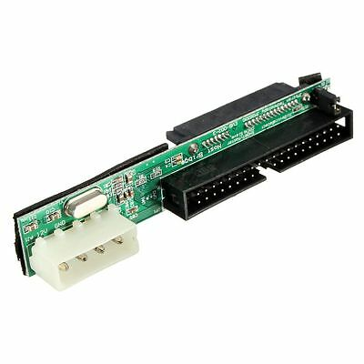 7+15P Female SATA SSD HDD Hard Drive To IDE 3.5'' 40 Pin Male Converter Adapter