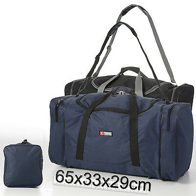 Weekend Gym Bag Holdall Duffle Duffel Sports Training Fitness Large 60L Litre