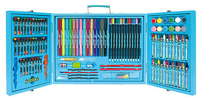 115 Pcs Deluxe Art Box Set Unique Design Pencil Crayon Marker Oil pastel Paint