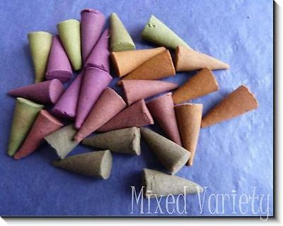 Quality Loose Incense Cones. Pack of 25. Choose your Scent