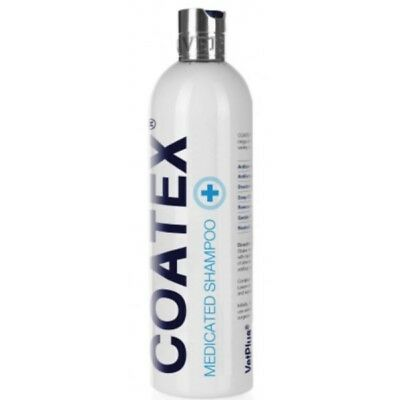 Coatex Medicated Shampoo For Dogs/Cats 500ml. Premium Service. Fast Dispatch.