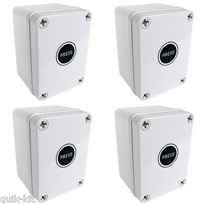 4 x Eterna TLS68EX Outdoor Time Lag Timer Switches IP66 16A Weatherproof