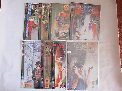 D -Lot of 8 The Books of Magic Comics Vol.1 - 8 First Issue 1994 All Mint