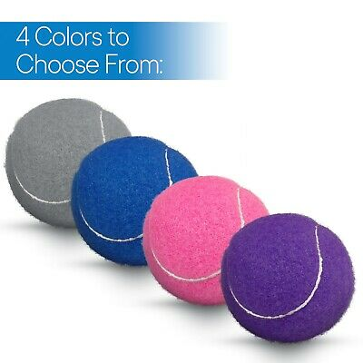 RMS Precut Tennis Walker Glide Balls (Walker Glides) - 6 Colors to choose from