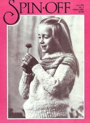 Spin-off magazine winter 1983: spin worsted, woolcombing