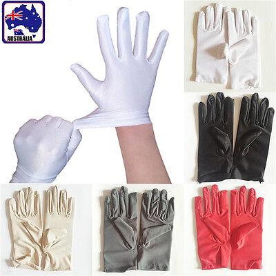Women Ladies Glove Spandex Protection Sun Block  Bridal Evening Party CGLOV 65