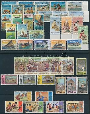 Tokelau Islands stamp 1976-1984 9 sets MNH WS188770