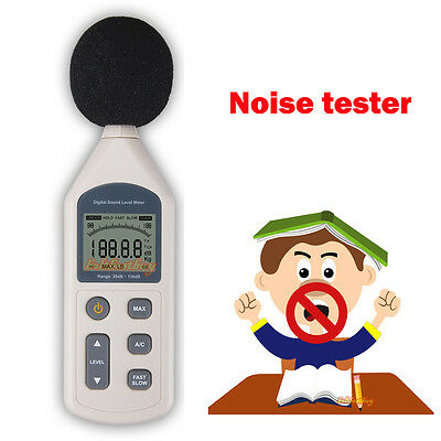 Digital Sound Noise Level Decibel Db Meter 30-130dB GM1357 Noise Pressure Tester