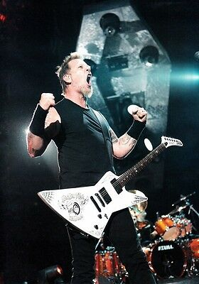 JAMES HETFIELD Metallica PHOTO Print POSTER Death Magentic Master Of Puppets 008