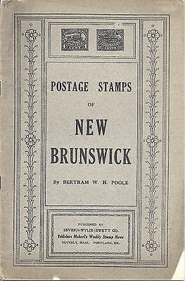 Postage Stamps of New Brunswick, Booklet #28, Bertram W. H. Poole - Used*