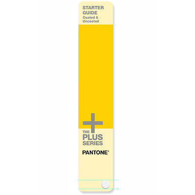 Pantone Starter Guide Solid Coated, Uncoated. With 543 colours. Latest version