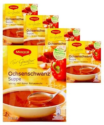 MAGGI oxtail soup - five (5) bags for you - original german brand