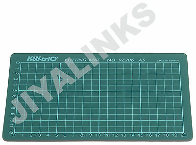 KW-triO A5 Self Healing Grid Cutting Mat Non Slip Knife Board 225 x 150 mm