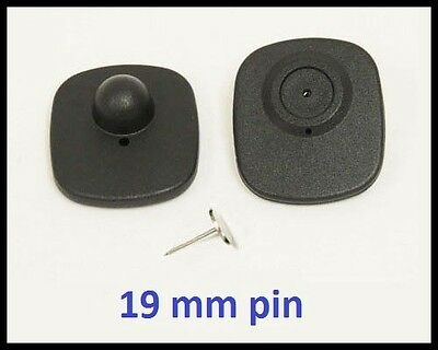 1000 PS RF 8.2 MHz Hard Tag CHECKPOINT ® compatible Anti Theft System + 19mm pin