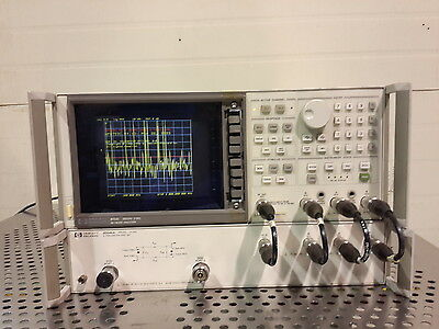 HP Agilent 8753C Network Analyzer with 85046A S-Parameter Test Set