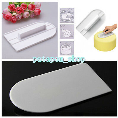 Hot Cake Smoother Polisher Tools Cutter Decorating Fondant Sugarcraft Icing Mold