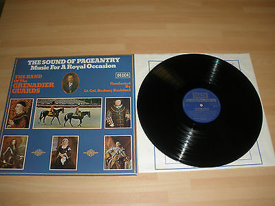 """The Sound Of Pageantry 12"""" Vinyl Album Band Of The Grenadier Guards Decca Ex """""""