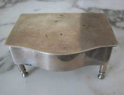 Lovely Mexican Sterling Silver Case On Legs-Piano Shape