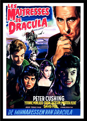 A3 - Brides of Dracula Movie 1960 Film Cinema wall Home Posters Art #10