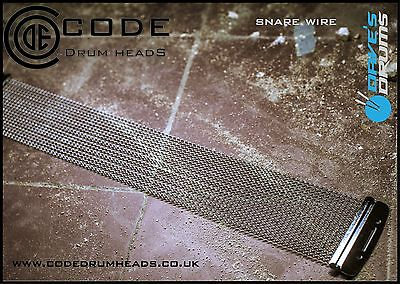 "CODE ""Digital"" 14"" Snare Drum Wires 20 Strand // Free Shipping"
