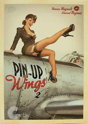 -A3 Size Wall Poster Print Art Deco - PIN UP Girl World War 2 Vintage -#16