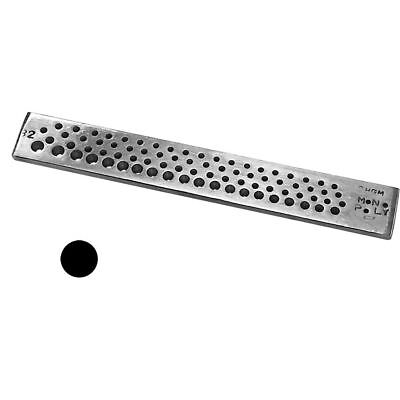 Round Drawplate Steel 82 Holes (0.12-2.5)Mm Pulling Jewelry Wire  Tool