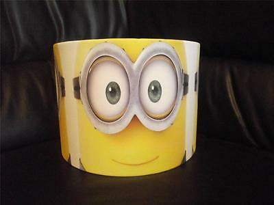 "Minions D2 10"" Drum Ceiling Lampshade Lightshade"