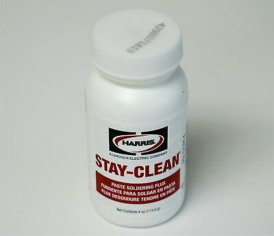 40027 SCPF4 Harris Stay-Clean Soldering Flux Paste