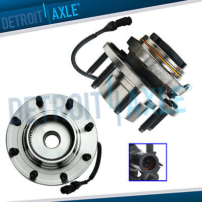 Front Wheel Hub Bearings ABS 4x4 SRW - FROM 3/22/99, 1999-2004 Ford F-250 F-350