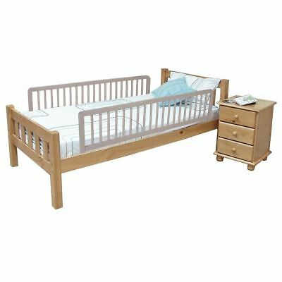 Safetots Extra Wide Double Sided Safety Childs Bed Rail Toddler Bed Guard Grey